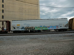 10-01-10 (100) (This Guy...) Tags: road railroad car train hope graffiti ipc box graf rail rr traincar much boxcar graff hm yen 2010 hope4 yen34