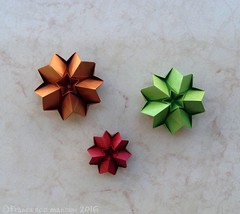 Fever (mancinerie) Tags: origami paperfolding modularorigami