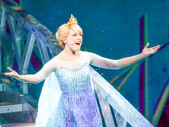 Elsa's Past is in the Past (chipanddully) Tags: frozen disney dca elsa californiaadventure letitgo hyperiontheater queenelsa liveatthehyperion