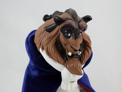 Beauty and the Beast Deluxe Doll Set - US Disney Store Purchase - Deboxed - Beast 12'' Doll - With Cape - Portrait Left Front View #3 (drj1828) Tags: disneystore purchase doll dollset deluxe beautyandthebeast 12inch beast