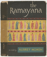 Lettering and design by Emil Antonucci for The Ramayana (Herb Lubalin Study Center) Tags: cover lettering bookjacket emilantonucci