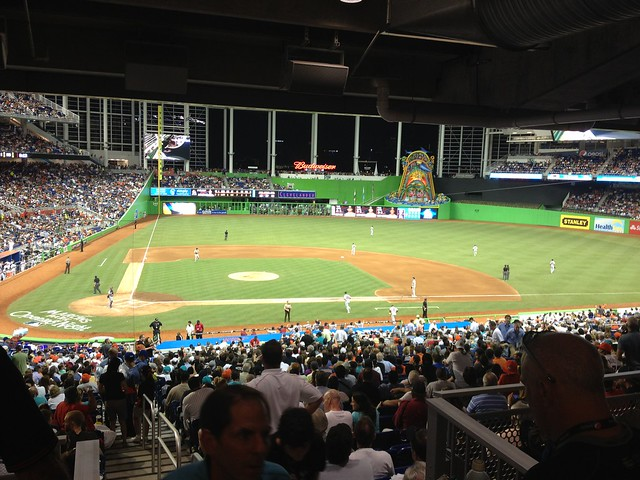 Opening Night - Marlins Park (25)