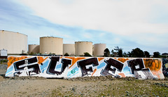 Sufer (TheHarshTruthOfTheCameraEye) Tags: sanfrancisco ca graffiti san francisco mta sufer