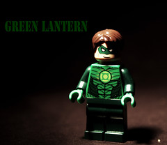 The Green Lantern (A Civilian) Tags: green comic lego lantern exclusive con minifigure