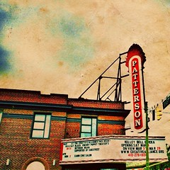 Patterson Theater (liketheTEA) Tags: city building sign architecture vintage buildings md maryland baltimore patterson hdr pattersonpark iphone theather