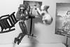 Asuka Atomicus V2 (SatanaeI) Tags: cat toy jump levitation salvador recreation dali asuka philippe halsman atomicus revoltech