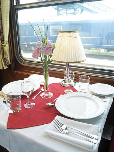 Danube Express - dining car / restaurant