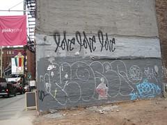 Wall. (Majesty) Tags: nyc newyorkcity travel holiday newyork brooklyn work liberty graffiti unitedstates metro manhattan burger dumbo bull converse timessquare statueofliberty statenisland manhatten jtrain bushwick loitering internship wallst loveme shakeshack metroministries muffinmilk dogfacedman metroworldchild