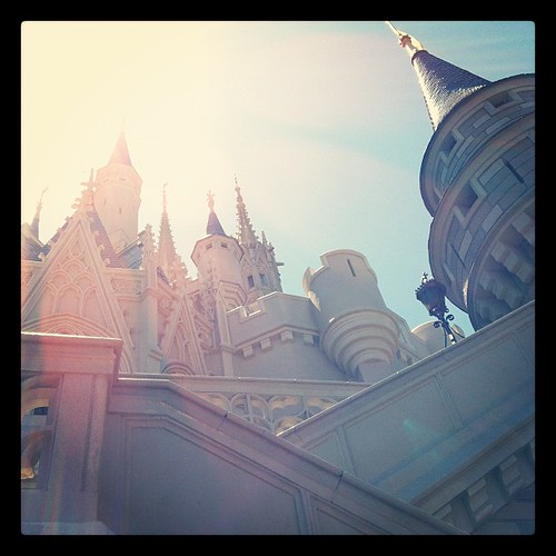 the castle at The Magic Kingdom