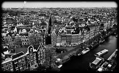 Amsterdam Jordaan Neighborhood (Michael Shoop) Tags: travel blackandwhite bw holland tourism netherlands dutch amsterdam europe nederland prinsengracht nl europeanunion annefrank jordaan noordholland westerkerk canalhouse annefrankhouse raadhuisstraat annefrankhuis michaelshoop