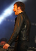 Tom Meighan of Kasabian performing live on stage at BBC Radio 1's Hackney Weekend held at Hackney Marshes - Day 1 London, England