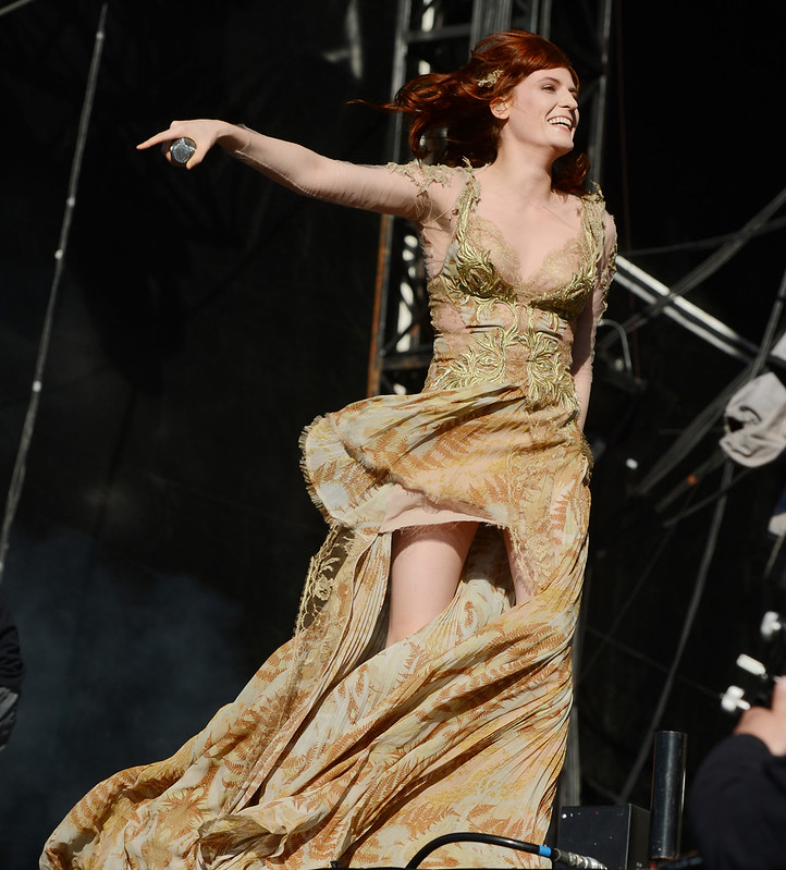 Florence Welch of Florence and the Machine BBC Radio 1\'s Hackney Weekend held at Hackney Marshes - Day 2 London, England - 24.06.12 Mandatory Credit: WENN.com