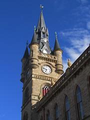 French-Gothic (Bricheno) Tags: clock scotland escocia steeple spire townhall szkocja renfrew schottland scozia cosse  esccia   bricheno scoia