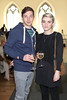 Frank McKenna & Edel Traynor pictured at the ebay.ie fashion show at Smock Alley Theatre, part of the ebay.ie online fashion week. Photo: Anthony Woods.