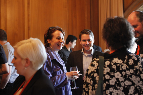 Talent Alumni drinks reception at the Hilton Hotel, Edinburgh