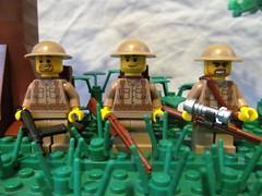 Brits (℣℩ƙ℩ℵℊ424) Tags: world 2 milan english war lego wwii ii sniper ww2 british sten custom axis madge brits allies minifigure brickarms viking424