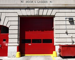 E090 FDNY Firehouse Engine 90 & Ladder 41, Van Nest, Bronx, New York City (jag9889) Tags: county city nyc house ny newyork building station architecture truck fire bronx engine company borough ladder firehouse fdny department firefighters bravest engine90 vannest ladder41 jag9889 y2012
