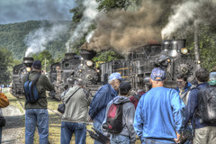 The Railfans (Jason Lowe Photography) Tags: railroad photography railway trains steam shay locomotive cass railfan hdr photomatixpro tonemapping