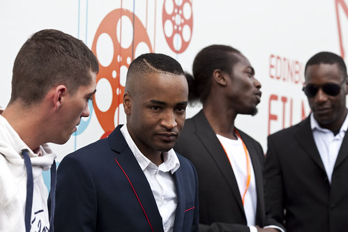 The One Mile Away cast at the 2012 EIFF Awards ceremony at the Filmhouse