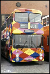 A Painters Nightmare! (Zippy's Revenge) Tags: bus manchester garage transport chocolates advertisement advert depot terrys harlequin leyland wigan gmt allover wn gmpte greatermanchester atlantean museumoftransport 8724 northerncounties ncme boylestreet an68d1r passengertransportexecutive a724lnc