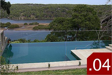 frameless glass for swimming pools