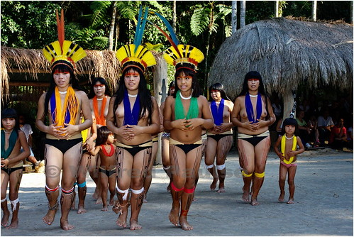 South American Tribal Women
