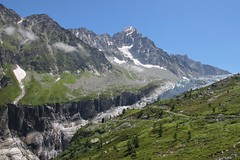 Extreme Environments: The Glacier d'Argentire and the Aiguille du Chardonnet (Richard Allaway) Tags: snow france alps ice landscape glacier 365 geography extremeenvironments
