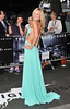Kimberley Garner The European Premiere of 'The Dark Knight Rises' held at the Odeon West End - Arrivals. London, England