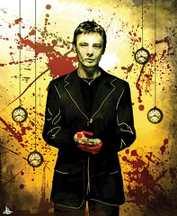 John Simm - Doctor Who (SouthWolfie) Tags: portrait music cinema film digital painting tv blood drawing ska master fanart doctorwho montypython movies series trainspotting 90s teletubbies artworks skinhead ewanmcgregor michaelpalin timroth davidtennant steveurkel johnsimm southwolfie