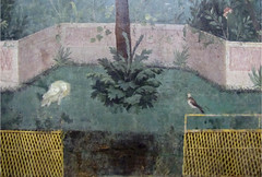 Painted Garden, Villa of Livia, detail with acanthus