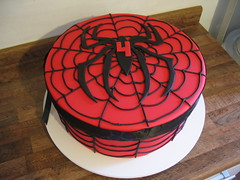 Spider Man (Confetti & Cupcakes) Tags: cake bar spider cupcakes high mini confetti evento beb bolo casamento convite festa aniversrio ch aranha marmita drika homen monter personalizados novaes gostosos decorados