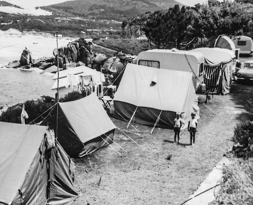 Camping in Hout Bay 1963-2