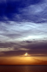 layers (SS) Tags: above blue sunset red sea summer sky orange sun white black water colors beautiful yellow composition skyscape photography evening soft mare mood view angle pentax pov scenic july gimp cielo vista layers lungomare bianco depth tone vastness k5 celeste gargano peschici shimmers atmophere noseup immensit