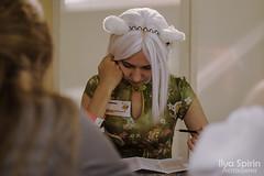 AsiaBriz 2012 (АзияБриз 2012) (Ilya Spirin) Tags: portrait woman anime festival digital 50mm reading nikon cosplay russia august event ekaterinburg 2012 nya nekomimi yekaterinburg россия екатеринбург аниме косплей азиябриз d5100 nikon35mmf18 nikond5100