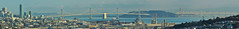 reach higher (pbo31) Tags: sanfrancisco california city bridge urban panorama color northerncalifornia skyline nikon october cityscape view over large panoramic baybridge bayarea vista bayview 80 stitched 2012 280 bayviewpark d700