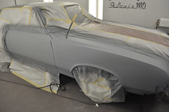 "1970 Cutlass SX Coupe Restoration in primer • <a style=""font-size:0.8em;"" href=""http://www.flickr.com/photos/85572005@N00/8151127036/"" target=""_blank"">View on Flickr</a>"