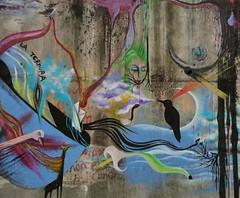 *La Ternura (Felipe Smides) Tags: lago mural resistencia detalles colectivo villarrica espacio cloaca smides
