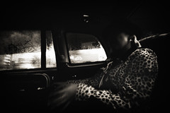 Cab Panther (TommyOshima) Tags: leica uk england woman london cab taxi voigtlander wide 15mm superwideheliarii