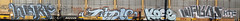 Nerf ~ Ridle ~ Kose ~ Wards (Skyline Crony) Tags: bench graffiti paint fat tag caps thin piece burner bomb nerf freight wards throw krylon kose rusto ridle ironlak