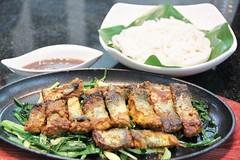 ปลาทอดกระทะร้อนฮานอย (จ่า ก๋า) เมนูแนะนำร้านนาม บางนา