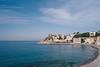 ligurian coast view (gorbot.) Tags: sea colour landscape coast spring liguria genoa genova lightroom rangefindercamera mmount leicam8 voigtlander28mmultronf19 vscofilm