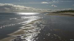 Aberdeen 007 (Hauke Lass) Tags: sea beach strand lumix coast scotland meer surf dunes tide lass trail aberdeen shore northsea heath ufer hauke seashore nordsee gh sandbank heide tiden reflexionen kste schottland dnen wanderweg brandung spieglung haukelass