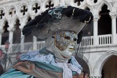 L'ho incontrata che andava di fretta (martingabrielle) Tags: carnevale venezia azzurro canoneos maschere martingabrielle