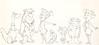 The Flintstones Size Comparison Illustration (Hanna-Barbera, 1965) (Space Mutt) Tags: dino cartoon animation bettyrubble fredflintstone barneyrubble hannabarbera theflintstones wilmaflintstone modelsheet pebblesflintstone bammbammrubble