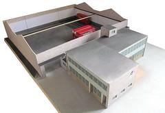 Brixton bus garage model diorama (kingsway john) Tags: kingsway models model bus garage 176 scale london transport diorama londontransportmodel oo gauge miniature