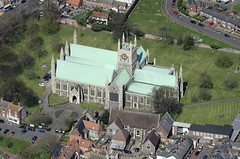 St Nicholas Church - Great Yarmouth Aerial Images (John D F) Tags: norfolk aerial fromabove greatyarmouth eastanglia aerialimage britainfromabove aerialnorfolk aerialimagesuk