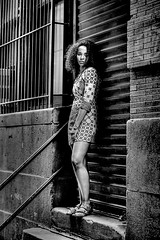 grundy look (Litratistica Images NYC) Tags: nyc newyorkcity blackandwhite usa newyork black monochrome brooklyn li manhattan blackbeauty ebony blackgirl canoneos5d canon2470mm anaiis ebonygirl litratistica earldolphy litratisticaimages cherrydolphy litratisticaimagesnyc