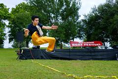 Dragon Boat Festival - 2 (-Dons) Tags: boy austin jump texas unitedstates wushu dragonboatfestival internationalshaolinwushucenter festivalbeach
