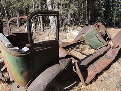 Nordegg Rail Yards (kevinmklerks) Tags: history rust antique historic