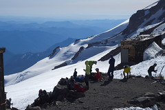 Camp Muir (Sergiy Matusevych) Tags: park camp mountain snow paradise hiking mount climbing trail national rainier mountaineering muir